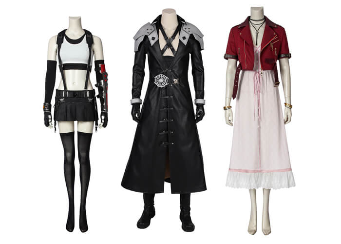 Final Fantasy VII Remake Cosplay Costumes